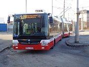 Starší model trolejbusu Škoda 31Tr