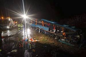 Nehoda u Nitry na Slovensku.