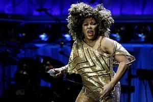 Americká zpěvačka Tina Turner vystoupila v pražské O2 Areně.
