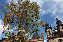 Velikonoce na Staroměstském náměstí.