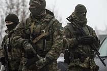 Ukrajinští vojáci - ilustrační foto.