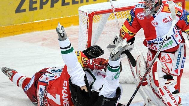 Slavia nakonec udolala hokejisty Mladé Boleslavi 5:4.