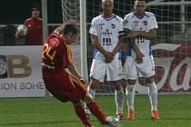 Fotbalisté Dukly si bez potíží poradili v Gambrinus lize s Baníkem.