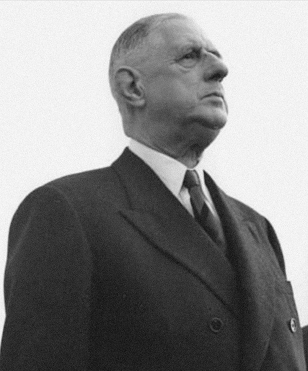 Francouzský prezident Charles de Gaulle