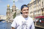 Maxim Habanec při natáčení dokumentu Skate of Mind v Petrohradu
