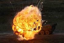 Vojenské cvičení.