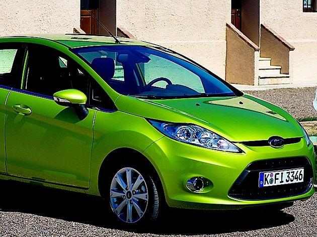 Ford Fiesta patří mezi nejoblíbenější automobily.
