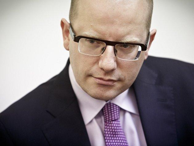 Premiér Bohuslav Sobotka.