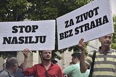 Na případ postřelené novinářky reagují černohorská veřejnost i zástupci světových velmocí.