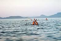 Jezero Balaton. Ilustrační foto