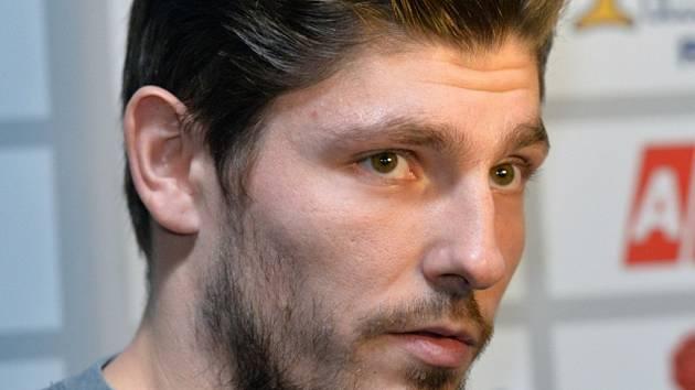 Michal Kempný na srazu hokejové reprezentace.