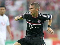 Kanonýr Bayernu Mnichov Bastian Schweinsteiger.