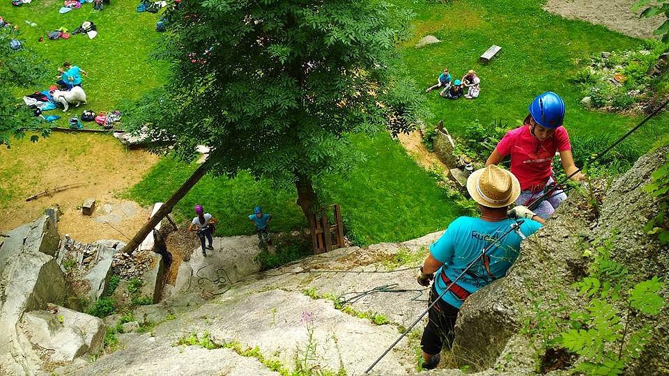 Ferrata Horolezecká aréna Liberec