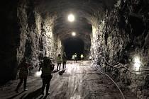 Obří tunel. Finské uložiště Onkalo v tuto chvíli představuje asi pětikilometrový tunel