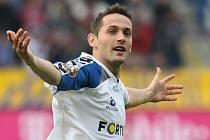 Spartu dvěma góly sestřelil chorvatský útočník Andrej Kerič.