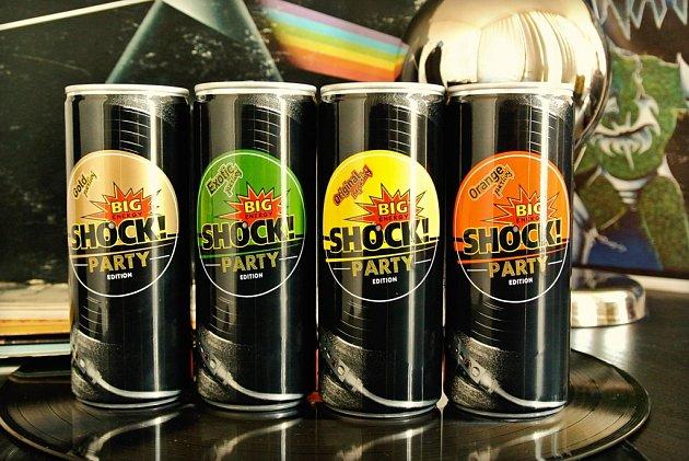 Energetické nápoje BigShock!