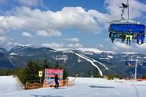 Konec lyžařské sezony 2018/2019 ve Špindlerově mlýně