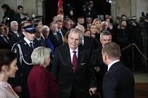 Miloš Zeman: prezidentská inaugurace