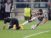 Juventus Turín - Real Madrid: Carlos Tevez a Daniel Carvajal