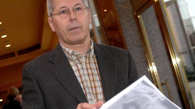 Předseda komise rozhodčích Luděk Macela.