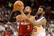 Miami - Philadelphia: Dwyane Wade a JaKarr Simpson