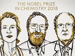 Nobelova cena za chemii pro rok 2018