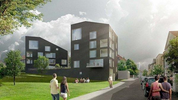 Developerská společnost AYOR development plánuje vpražských Strašnicích postavit bytový dům, jehož podoba vychází ztypické siluety Českého ráje, zříceniny hradu Trosky.