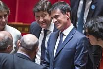 Francouzský premiér Manuel Valls.