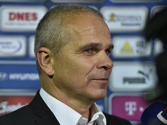 Trenér reprezentace do 21 let Vítězslav Lavička
