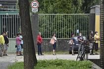 Testování v Dolu ČSM ve Stonavě