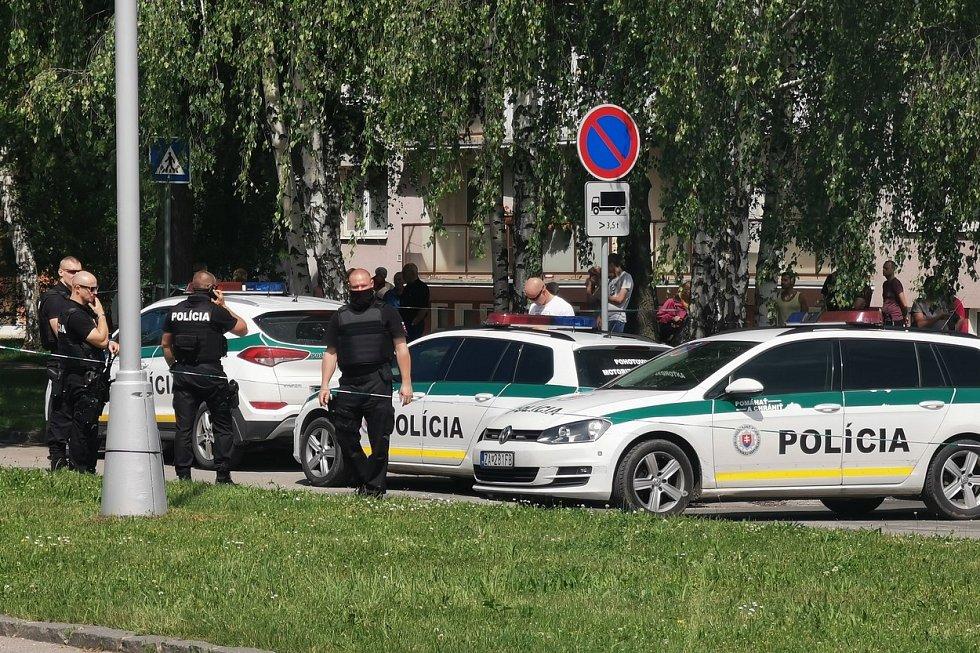 Policisté zasahovali na základní škole ve Vrútkách.