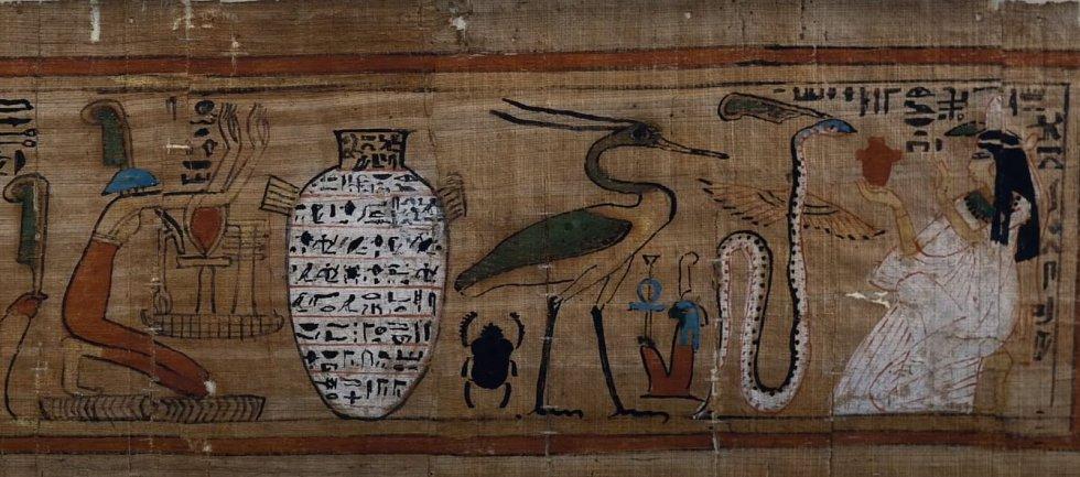 Volavka byla jednou z prvních podob slunečního boha Atona