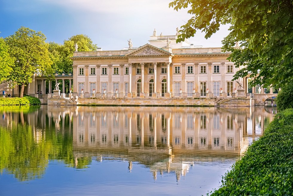 Královský palác ve Varšavě.