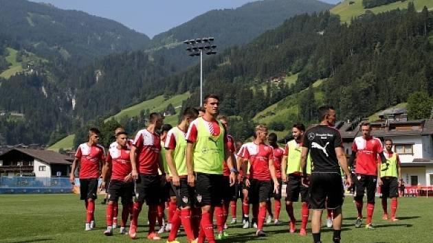 Fotbalisté Stuttgartu na soustředění v Rakousku