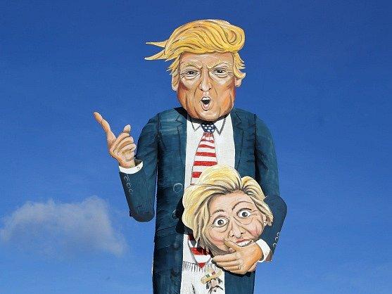 Figurína Donalda Trumpa