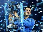 Novak Djokovič postoupil do finále Turnaje mistrů, kde vyzve Rogera Federera