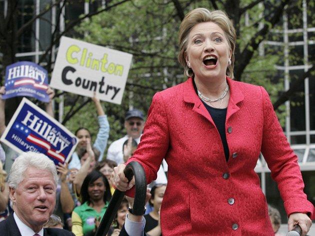Hillary Clintonová potřebuje v Pennsylvanii zvítězit za každou cenu.
