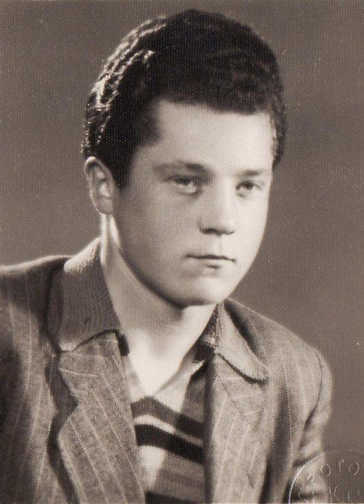 Miroslav Hampl v roce 1950