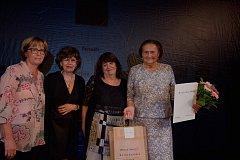 Seniorkou roku 2018 se stala Blanka Tuscherová, dlouholetá vedoucí Klubu seniorů Brno-Líšeň