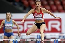 Denisa Rosolová vyhrála na ME svůj rozběh na 400 metrů překážek.