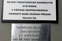 Sídlo advokátní kanceláře Daniela Musila v Mezibranské ulici v Praze.