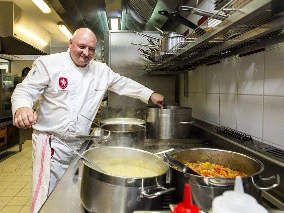 Týmový kuchař Rudolf Juriga