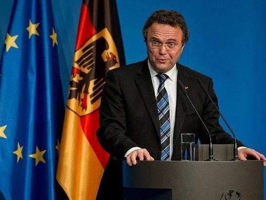 Německý ministr vnitra Hans-Peter Friedrich