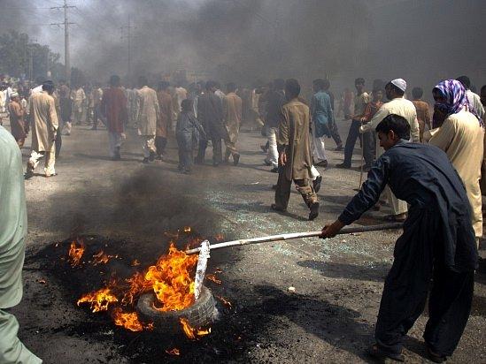 Protest v Pákistánu