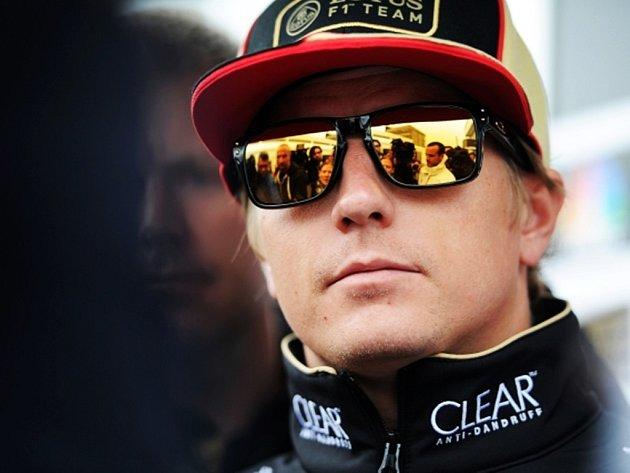 Finský pilot F1 Kimi Raikkönen.
