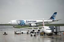 Egyptské aerolinky, ilustrační foto