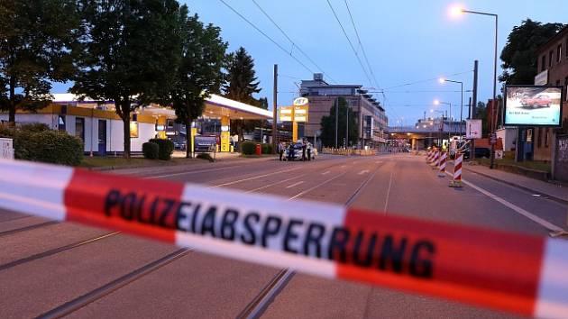 V centru Drážďan byla nalezena letecká puma z druhé světové války.