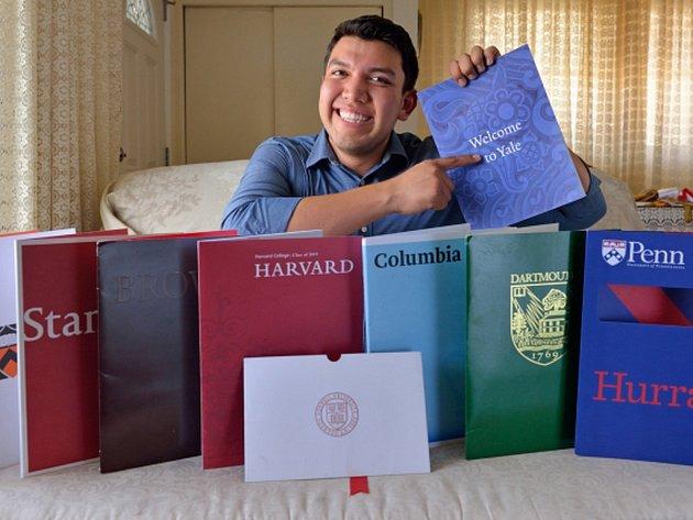 Sedmnáctiletý Fernando Rojas se dostal na všech osm nejprestižnějších amerických univerzit.