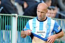 Petr Johana z Mladé Boleslavi vyfasoval v zápase se Slováckem červenou kartu a poroučel se ze hřiště.