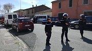 Útok ve Francii.